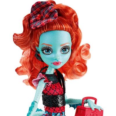 "990CFD17 Кукла Лорна Макнесси ""Школьный обмен"" Monster High Mattel"