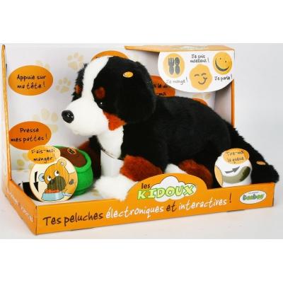 991210R-BKD Собака черная интерактивная Teeboo
