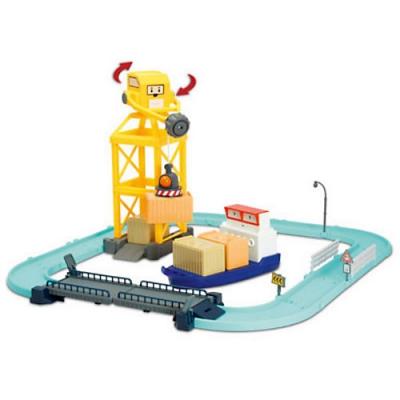 *990323 Игровой набор «Порт с разводным мостом» Робокар Поли Silverlit