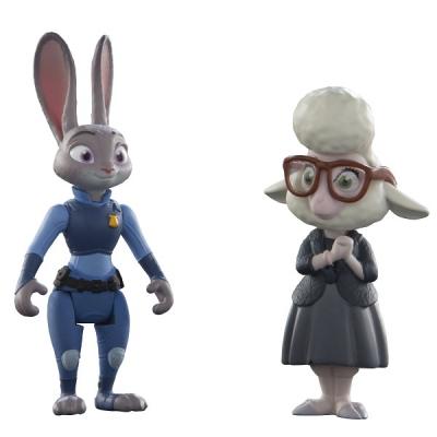 70002 Набор игрушек-фигурок Джудис и мисс Барашкис Зверополис Zootropolis Tomy