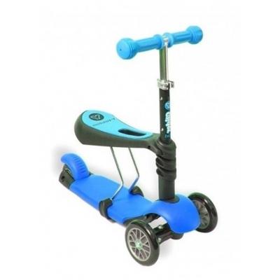 99413 Самокат-каталка с сиденьем Glider seat Y-bike 3 в 1