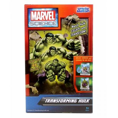 9918083 Растущая игрушка Трансформирующийся Халк Marvel Science Uncle Milton