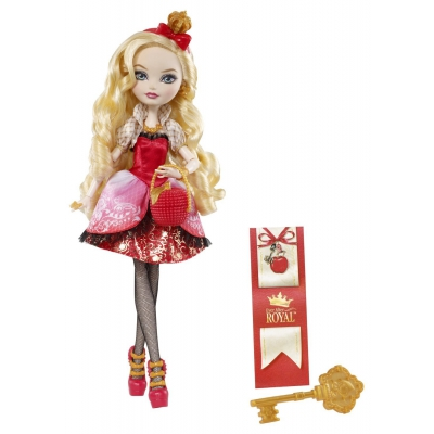 99BBD52 Кукла Эппл Уайт Наследники Ever After High Mattel