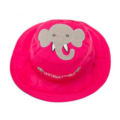 Панама детская двуxсторонняя Слон/Мышка FlapJacks
