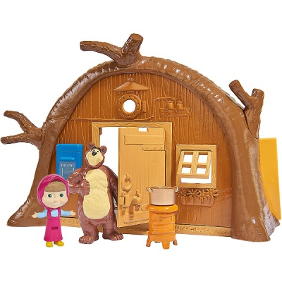 """99705 Игровой набор Домик Миши """"Маша и Медведь"""" Simba"""