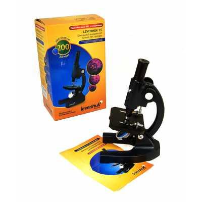 *25649 Микроскоп детский Levenhuk 3S NG (в комплекте набор для опытов)
