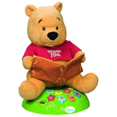 160354 Медвежонок интерактивный Винни Пух 30 см ( 8 песен и 8 историй) ТМ Disney