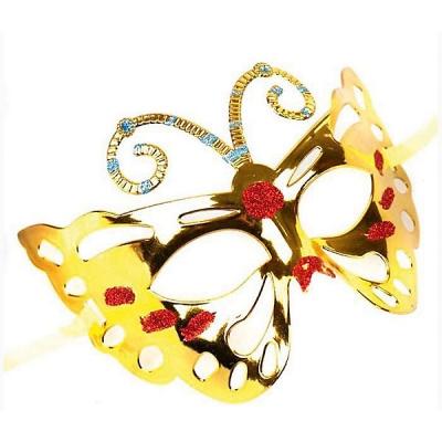 """99660 Маскарадная маска """"Золотая бабочка"""" Magic Time"""