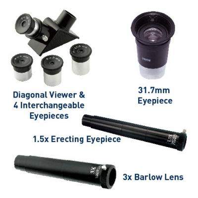 *TS771 Телескоп с увеличение в 525 раз в чемодане Edu-Toys