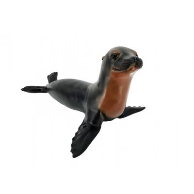 * RW0009 Морской котик, 57 см, из каучука с мягкой набивкой