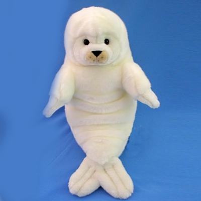 *0001BX Мягкая игрушка Белеша (детеныш тюленя) 63 см Абвгдейка