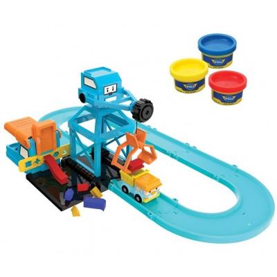 *990322 Игровой набор Цементный завод Робокар Поли SilverLit