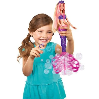 990049 Кукла Барби Русалочка с волшебными пузырьками Barbie Mattel