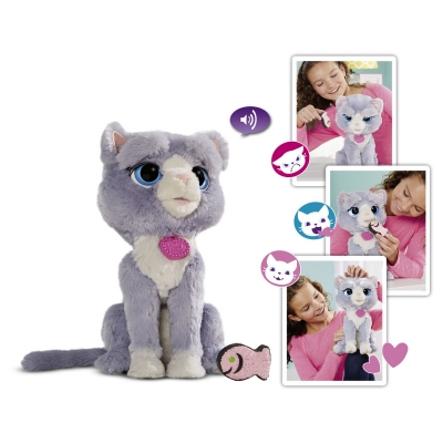 990036 Интерактивный котенок Бутси Bootsie FurReal Friends Hasbro