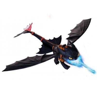 "990662 Игрушка ""Летающий Беззубик - дышит огнем"" Dragons Spin Master"