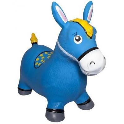 990881 Прыгунок Лошадь синяя Kid Hop