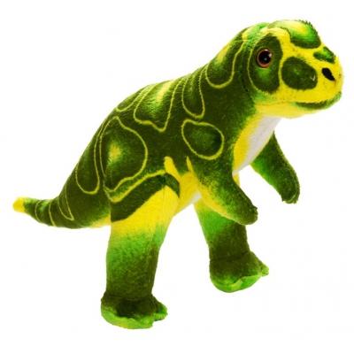 0068 Мягкая игрушка динозавр Тиранозар зеленый 25 см Абвгдейка