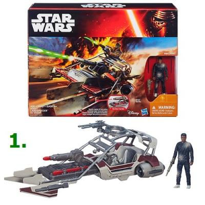 99672 Игрушка Космический корабль Класс 2 с фигуркой 9,5 см Звездные войны Star Wars Hasbro