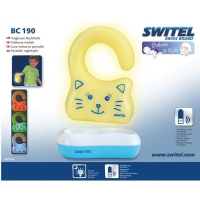 *BC190-CF Автоматический, беспроводной детский ночник на руку Switel