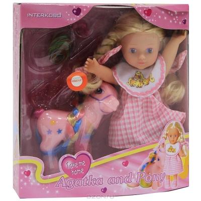 """99334 Игровой набор """"Кукла с пони"""" Agatka"""