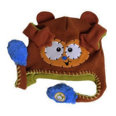 990481 Веселая чудо-шапка игрушка Обезьяна Flipeez