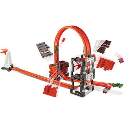990339 Конструктор трасс: взрывной набор Hot Wheels Mattel