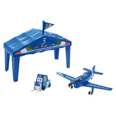 """99681t  Самолеты. Игровой набор """"Самолет в ангаре"""" Disney"""