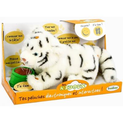 91210R-WHT Тигр белый интерактивный Тeeboo