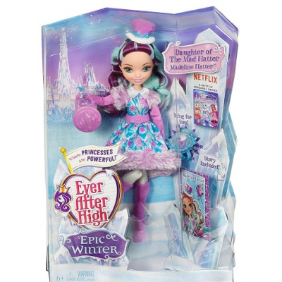 99DPG87 Кукла Меделин Хеттер Эпическая зима Ever After High Mattel