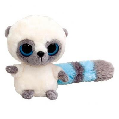 990058 Мягкая игрушка Лемур Юху голубой 12 см Aurora