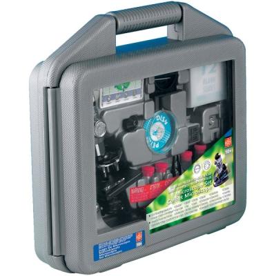 *MS903 Микроскоп детский с набором для изготовления препаратов в чемодане Edu-Toys
