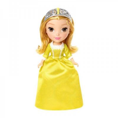 *CMT54 Кукла София Прекрасная в желтом платье 23 см Disney Junior Mattel Hasbro