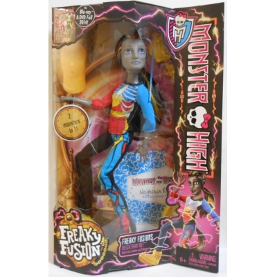 "990120 Кукла Нейтан Рот Единорог ""Слияние монстров"" Monster High Freaky Fusion"