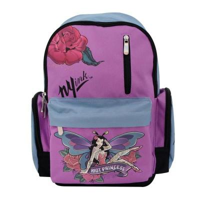 99012 Рюкзак школьный для девочки Фея Discovery Ink Action