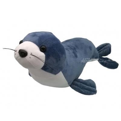 *BP0016 Мягкая игрушка Морской котик серый 45 см Абвгдейка