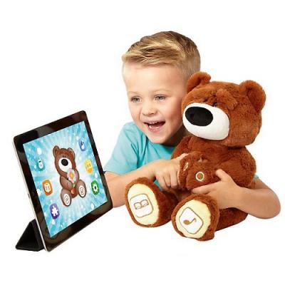 990314 Игрушка Медведь интерактивный Коричневый 20020L Luv'n Learn