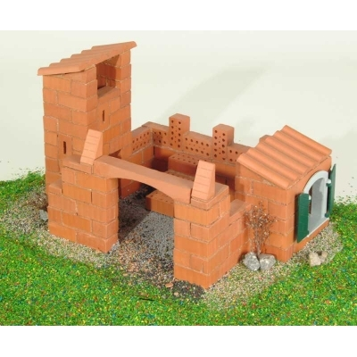 TEI8010 Строительный набор из кирпичиков Дом Teifoc