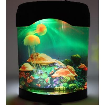 "99743 Настольная лампа ""Аквариум с медузами"" LED"