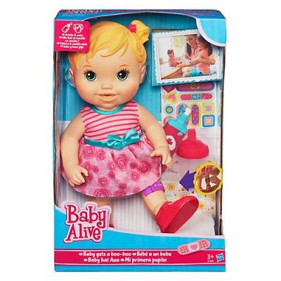 99024 Кукла Вылечи малышку 35 см Hasbro Baby Alive
