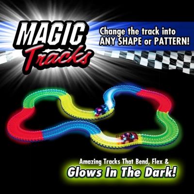990427 Гоночный трек светящийся с машинками Magic Tracks
