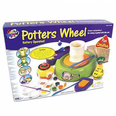 *80863 Гончарный круг детский с ножным приводом Galey Toys