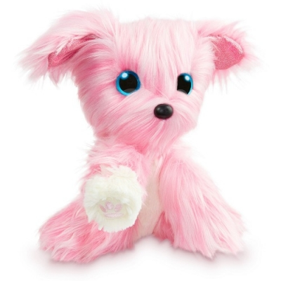 98413 Игрушка Пушистик-потеряшка Аква Розовый 25 см Scruff a Luvs
