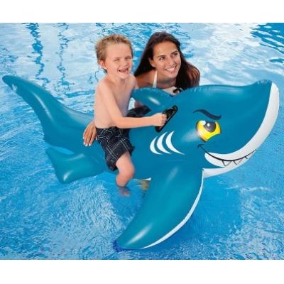 """990712 Надувная игрушка для плавания """"Дружелюбная акула"""""""