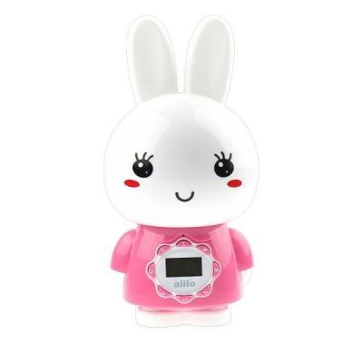 9960924 Интерактивная игрушка-медиаплеер Большой Зайка розовый Alilo G7