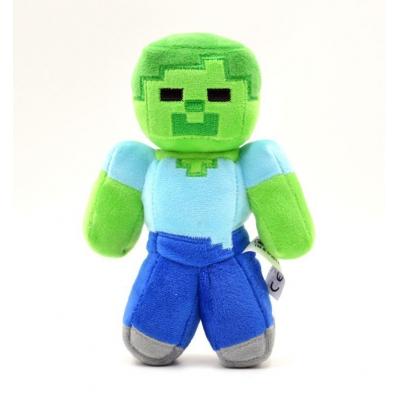0002 Мягкая игрушка Зомби из игры Майнкрафт Minecraft