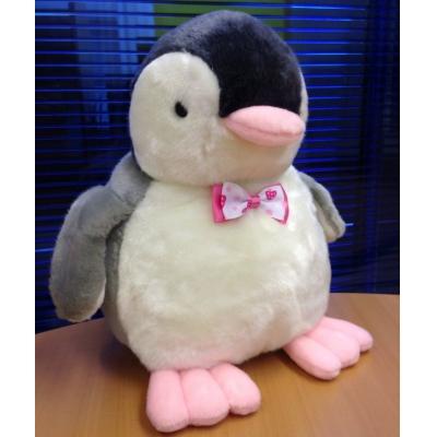 """*PA0003 Мягкая игрушка Пингвин """"Розовые лапки"""" 15 см"""