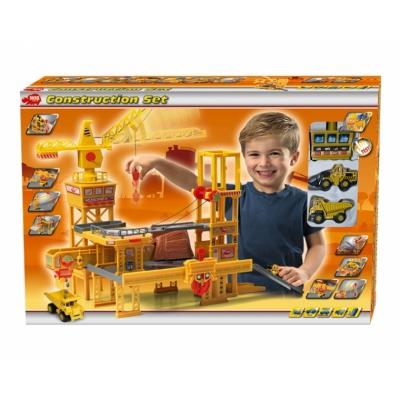 994077 Игровой набор Строительная площадка с 2 машинками Simba Dickie