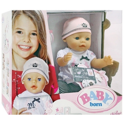 991342 Пупс интерактивный Суперзвезда Беби Бон Baby Born