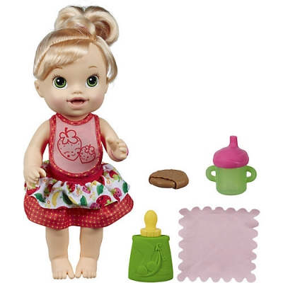 9900121 Кукла интерактивная Удивительная малышка 35 см Hasbro Baby Alive