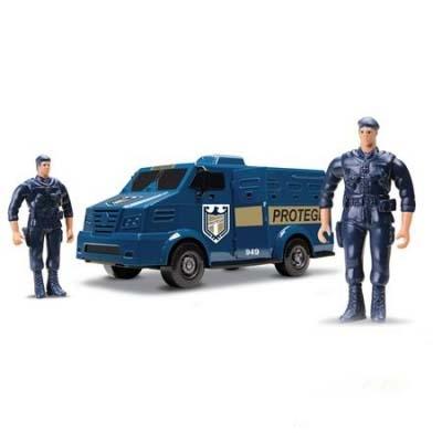 991605 Полицейский броневик
